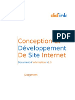 Document d'Information Did'Ink - SITE INTERNET NTI S.a.R.L