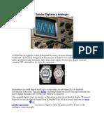 Ejemplos Señales Digitales y Análogas