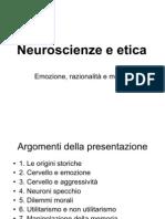 Neuroscienze e etica