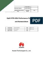 Optix Rtn Odu Performance Parameters and Nomenclature-b