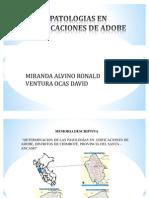 Patologias Adobe