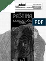 Baština sjeveroistočne Bosne [broj 1, 2010.]