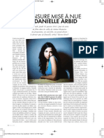 Elle- Interview with Danielle Arbid