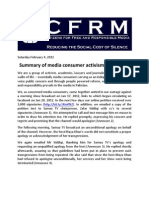 CFRM Release