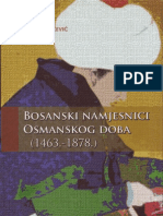 Bosanski Namjesnici Osmanskog Doba (1463.-1878.)