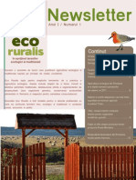 Newsletter Eco Rural Is