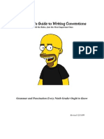 Thompson'sGuidetoWritingConventions
