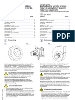 Instrukcja Monta380u Wolnobie380ne Wirniki Promieniowe i Wentylatory Promieniowe L-BAL-031-PL