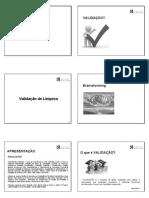 Validação de Limpeza_6 slides