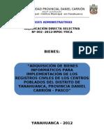 ADS N°002-2012-BIENES INFORMATICOS