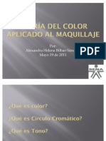 TEORÍA DEL COLOR APLICADO AL MAQUILLAJE