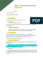 Trazado de carreteras y criterios básicos para el diseño 1