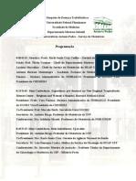 Programa II Simpósio de Doenças Trofoblásticas UFF 2012