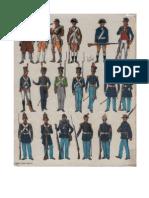 Funcken Uniformes de La Guerre de Secession (Fr)