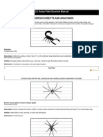 Dangerous Insects and Arachnids