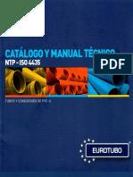 EUROTUBO catalogo y manual técnico