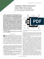 A. Srikantha Phani et al- Modal Coupling in Micromechanical Vibratory Rate Gyroscopes