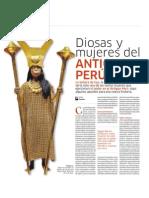 Diosas y Mujeres en El Antiguo Peru
