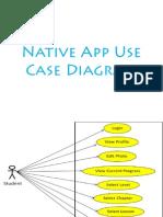 Native Application Use Case Diagram