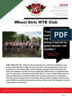 Gold Rusch Tour 2011 - Wheel Girls Report