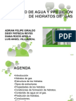 CONTENIDO DE AGUA Y PREDICIÓN DE HIDRATOS