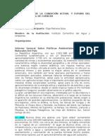 INFORME PAIS DE LA CONDICIÓN ACTUAL Y FUTURA DEL MANEJO INTEGRAL DE CUENCAS