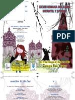 Díptico Semana libro Colegio San Viator