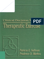 Clinical Desision in Therapeutik Exercise