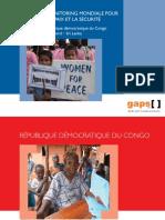 Democratic Republic of Congo FR ...La liste de momitoring mondiale pour le femmes, la paix et la sécurité
