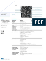 Via+VB7001 Datasheet v100301