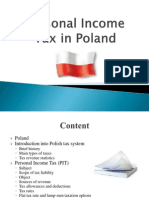 Personal Income Tax in Poland 2010