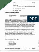 Due Process Info[