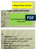 Caso Clinico Epilepsia Occipital