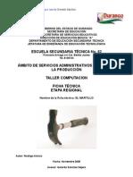 Análisis de Objeto Técnico El Martillo