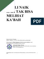 Hidayah_2!19!0203_7 Kali Naik Haji Tak Bisa Melihat Kabah