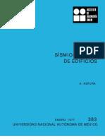 383 DISEÑO SISMICO OPTIMO DE EDIFICIOS