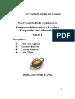 Penetracion Internet Grupo 1