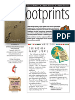 February 2012 Footprints Newsletter