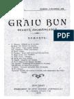 CălătoriipelaAromâni(N.Bațaria),GraiuBun,RevistăAromânească, 1906-1907