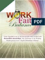 Work Faith Balance