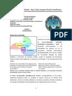 Unidad I. General Ida Des Del Desarrollo Sostenible (1)