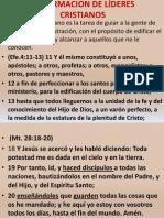 1 La Formacion de Lideres Biblicos