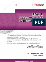Legal & Documentation Issues for Sukuk