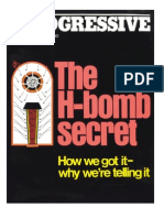 The Progressive- The H-Bomb Secret