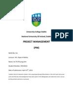 Main- Project Management