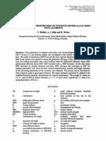 V. Hohler, A. J. Stilp and K. Weber- Hypervelocity Penetration of Tungsten Sinter-Alloy Rods into Aluminum