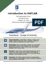 Matlab Intro 100217