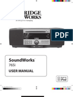 Cambridge Sound Works 765 Manual
