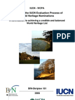 Enhancing the Iucn Evaluation Process of World Heritga Nominations