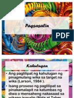 Pagsasalin (Filipino)